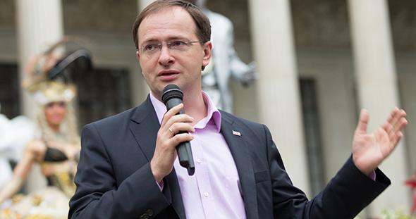 В адрес газеты поступило приветствие от министра культуры РФ В. Мединского