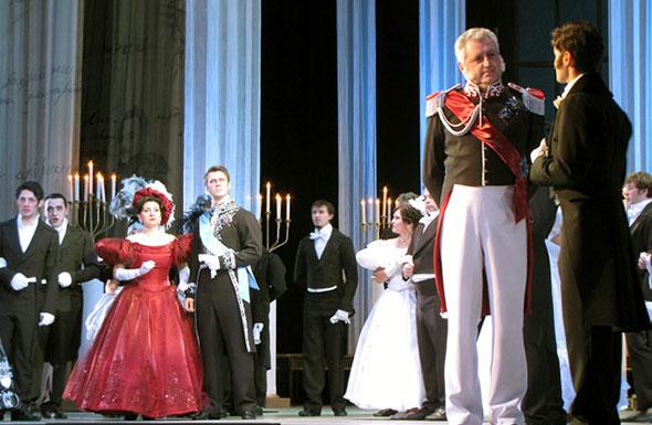 В Ростовском Государственном музыкальном театре 18 и 19 октября прошла премьера оперы «Евгений Онегин»