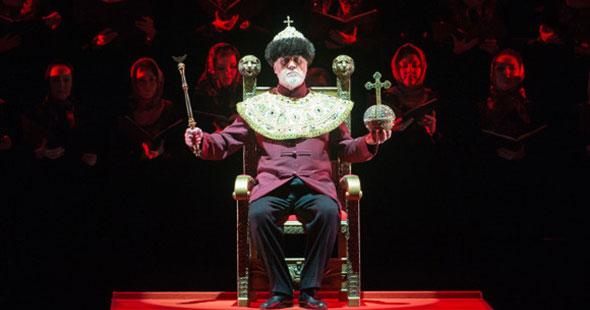 В Михайловском театре Владимир Юровский представил проект «Царь Борис» по первой редакции оперы Мусоргского