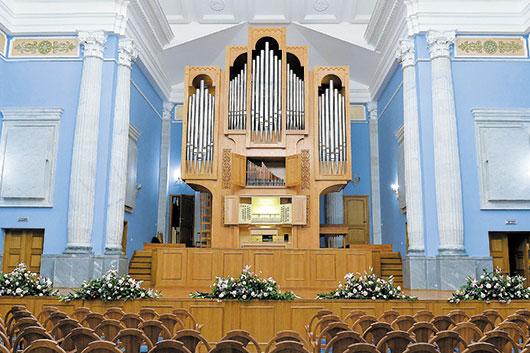 Новый дом челябинского органа