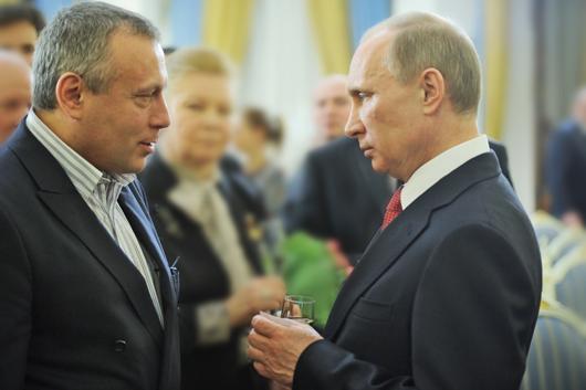 Встреча В. Путина<br>с  А. Устиновым