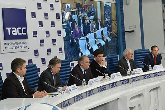 В пресс-центре ТАСС 17 февраля состоялась пресс-конференция, посвященная XV Международному конкурсу имени П.И. Чайковского
