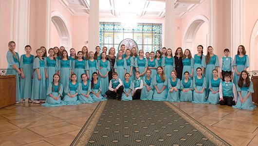 Детскому хору «Весна» им. А.С. Пономарева 50 лет