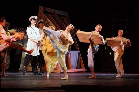 Ростовский государственный музыкальный театр впервые на сцене Большого театра в Москве