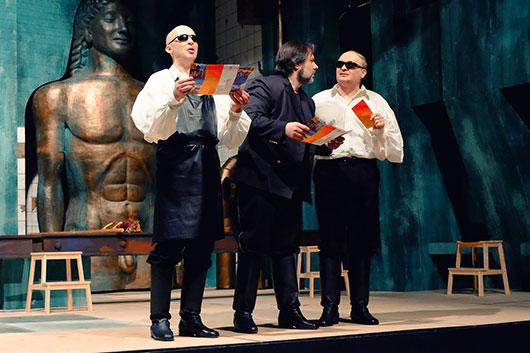«Титий Безупречный» Александра Маноцкова: мировая премьера в театре Покровского