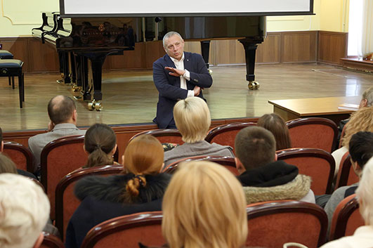 Андрей Устинов: встречи в Ростове-на-Дону
