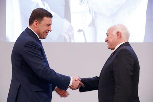 Вручены премии Губернатора Свердловской области  в области литературы и искусства за 2014 год