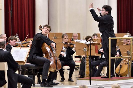 Юбилейный XX фестиваль «Музыкальный Олимп» открылся в Санкт-Петербурге