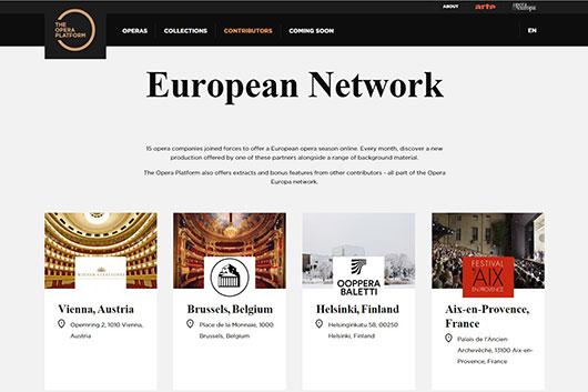 Лучшие спектакли от ведущих оперных театров Европы онлайн в проекте The Opera Platform