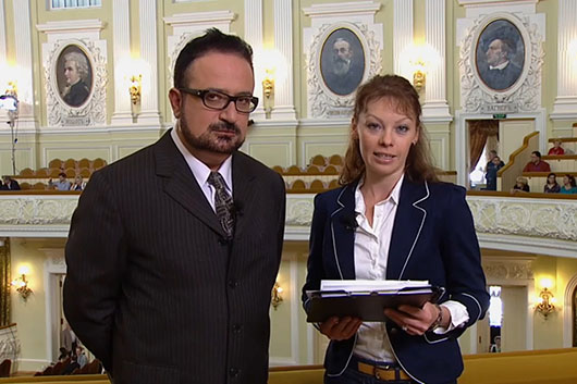 Ведущий трансляции конкурса пианистов на Medici.tv Эрик Дахан шокировал зрителей