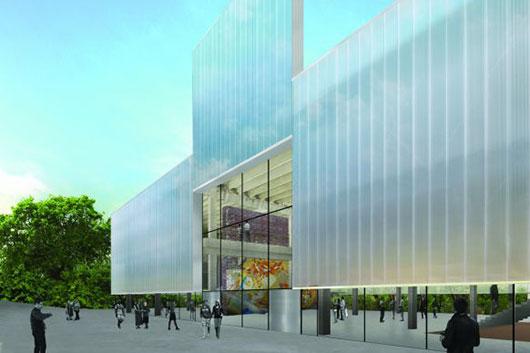 В Парке Горького открылось новое здание Музея современного искусства «Гараж»