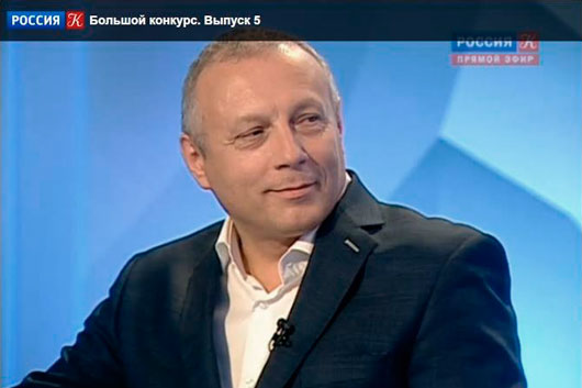 Главный редактор «МО» Андрей Устинов — эксперт программы «Большой конкурс» на канале Россия-Культура