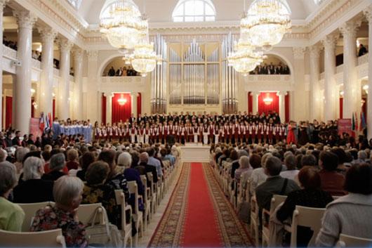 Международный конкурс хоровых коллективов пройдет в Санкт-Петербурге
