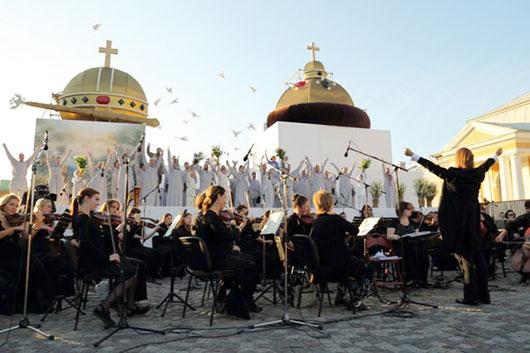 Фестиваль на открытом воздухе «Опера — всем» начался в Санкт-Петербурге