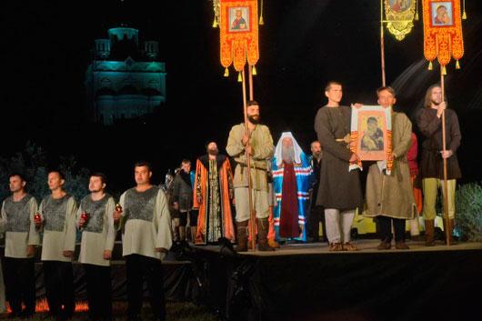Опера «Легенда о граде Ельце» вновь собрала тысячи зрителей на берегу Быстрой Сосны