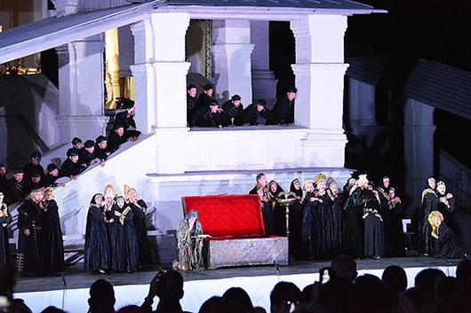 Геликон-опера представил оперу «Царская невеста» в Коломенском
