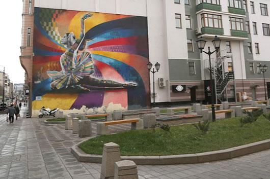 В честь Майи Плисецкой назван сквер на Большой Дмитровке в Москве