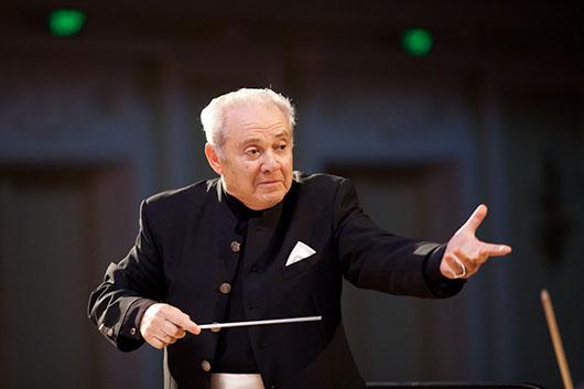 Скрипач, альтист, дирижер, педагог Эдуард Грач отметил 85-летие