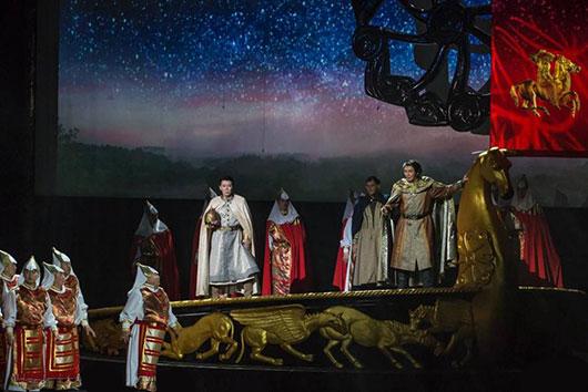 Дни культуры Якутии в Пекине завершила опера «Князь Игорь»
