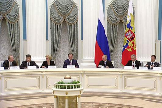 Владимир Путин провёл заседание попечительского совета Мариинского театра