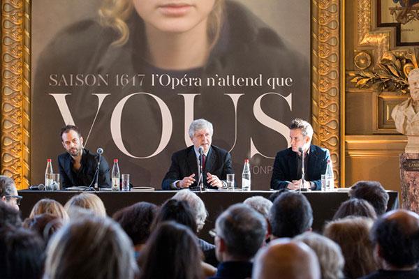 Парижская опера объявила планы на сезон 2016/17