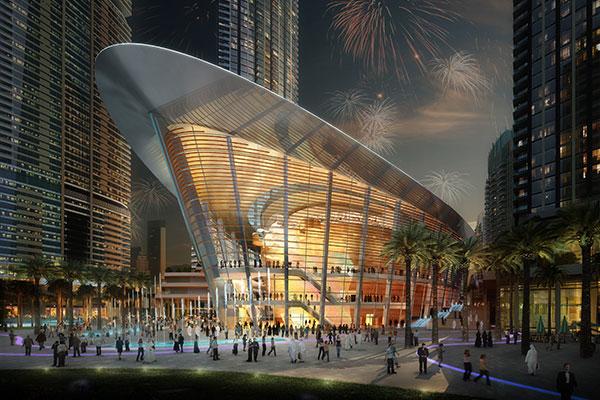 Близится к завершению строительство оперного театра в Дубаи