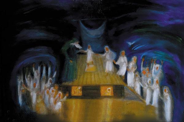 Премьера детской оперы Б. Бриттена «Ноев ковчег» в Санкт-Петербургском театре «Зазеркалье»