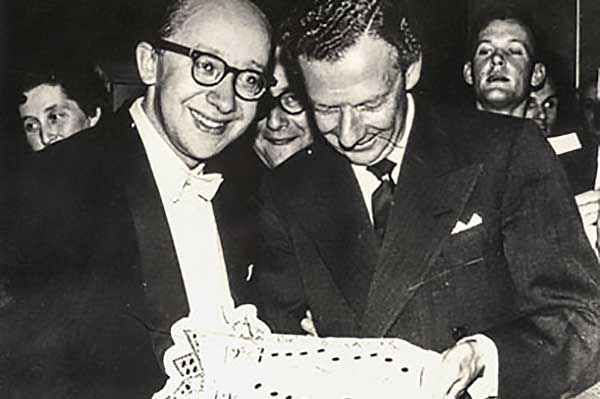 Геннадий Рождественский и Бенджамин Бриттен, Лондон, 1960-е гг.