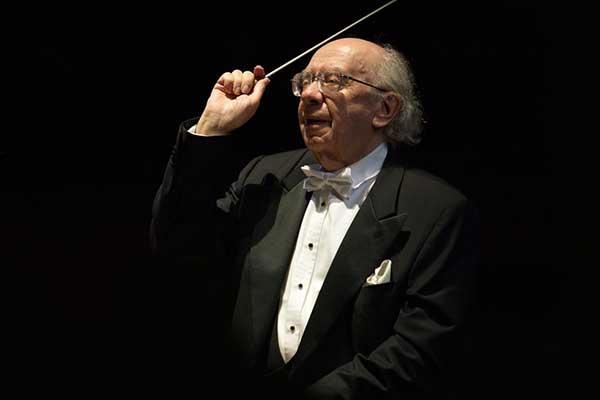 Геннадий Рождественский отметит 85-летний юбилей за пультом оркестра в Большом театре