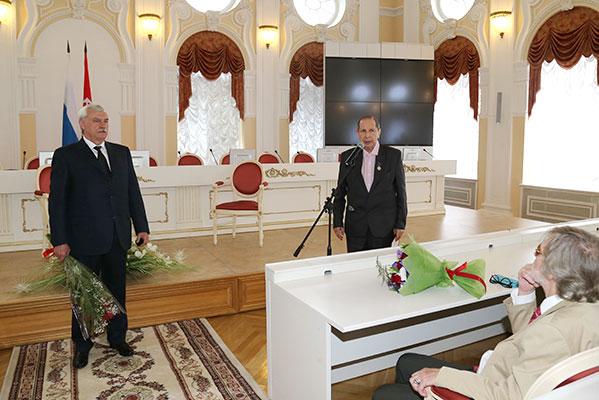 Вручены премии правительства Санкт-Петербурга в области культуры и искусства