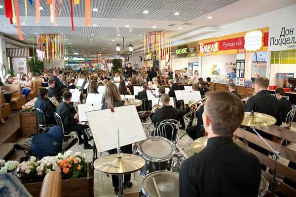 Симфонический оркестр Удмуртии сыграет в торговом центре