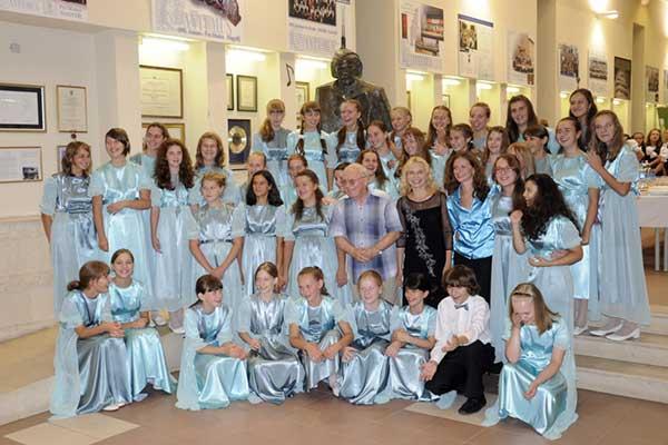 Детский хор «Весна» стал обладателем Гран-при на Международном конкурсе хоров в Венгрии