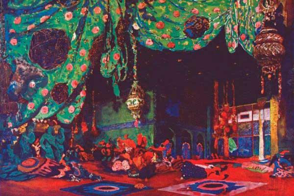 Выставка Бакста в ГМИИ им. Пушкина продолжит работу до 28 августа