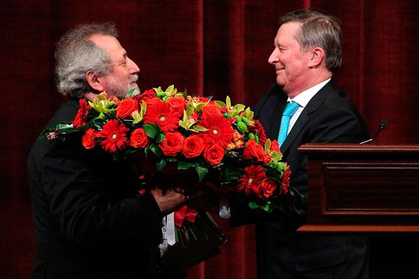 Сергей Иванов лично поздравил Бориса Эйфмана с юбилеем и вручил орден Почета