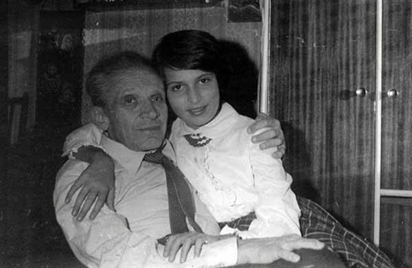 Мечислав Вайнберг с дочерью Анной