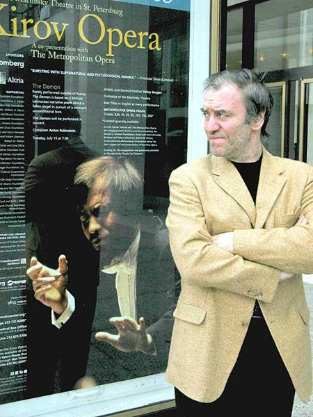 Гастроли Государственного Академического Мариинского театра в Нью-Йорке, 2003 год. Фото Константин Еловский / ТАСС