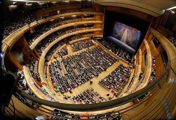 Новая сцена Мариинского театра, 2013 год. Фото AP Photo / Dmitry Lovetsky