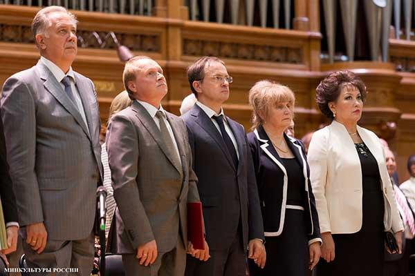 Министр культуры Российской Федерации наградил сотрудников Московской консерватории