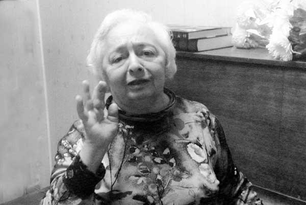 Скончалась Нелли Григорьевна Шахназарова