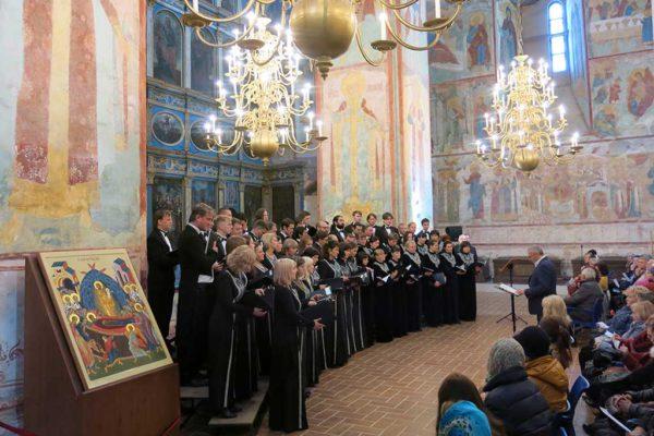 Концерт памяти Сергея Зуева в Софийском соборе Вологодского кремля