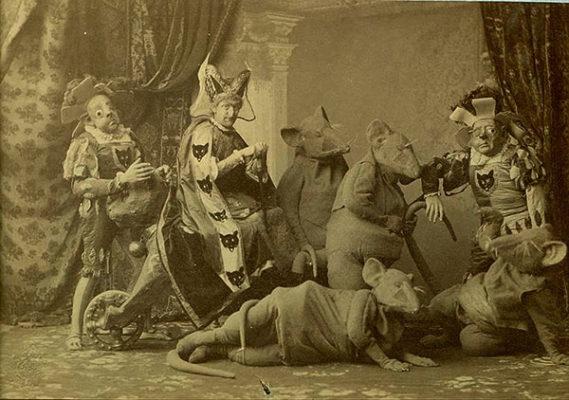 Силуэты театрального прошлого
