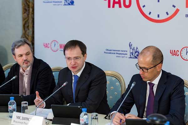 Владимир Мединский: «За четыре года внебюджетные доходы театров выросли на 80 процентов»