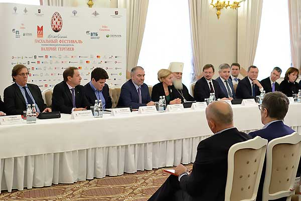 Валерий Гергиев объявил программу XVI Московского Пасхального фестиваля