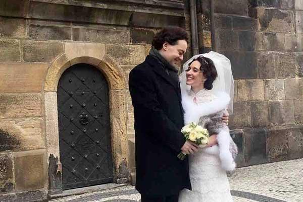 Пианист Евгений Кисин женился на Карине Арзумановой