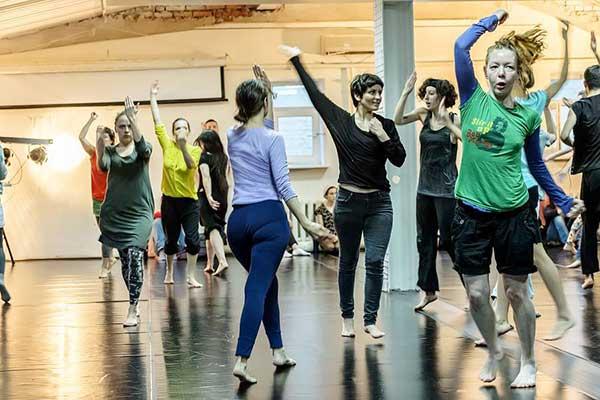 3 апреля открывается образовательная программа в области современного танца Сота-2017