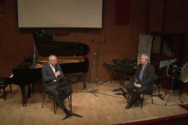 1 марта состоялся концерт абонемента «Персона-композитор»: в гостях у Андрея Устинова — Юрий Воронцов