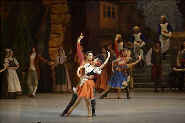 В Мариинском театре поставили балет «Пахита»