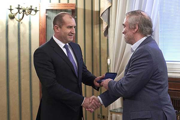 Президент Болгарии удостоил Гергиева почетного знака за вклад в болгарскую культуру