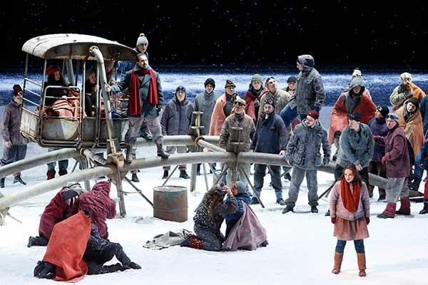 Историю Снегурочки в новом прочтении рассказал Большой театр