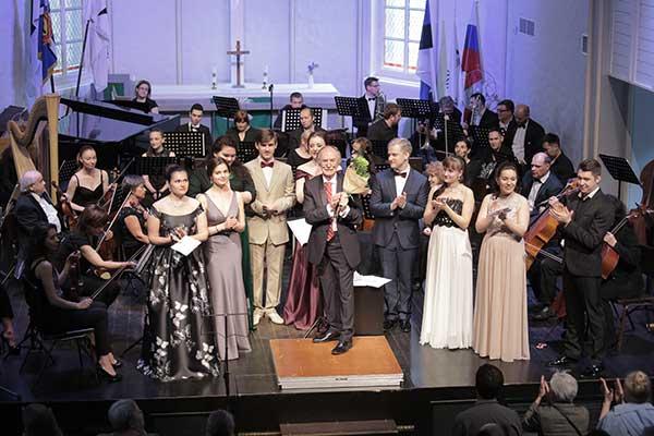 Завершился Первый международный фестиваль-конкурс имени Георга Отса